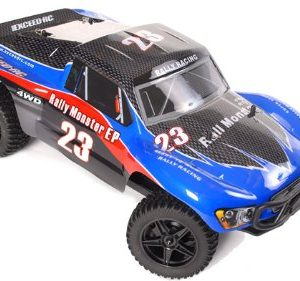 110-24Ghz-Exceed-RC-Electric-Rally-Monster-RTR-Off-Road-Rally-Truck-Carbon-Blue-0