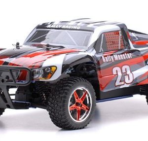 110-24Ghz-Exceed-RC-Rally-Monster-Nitro-Gas-Powered-RTR-Off-Road-Rally-Car-4WD-Truck-Stripe-RedSTARTER-KIT-REQUIRED-AND-SOLD-SEPARATELY-0