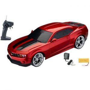 110-Licensed-Red-Camaro-Electric-RTR-Remote-Control-RC-Car-XQ-0