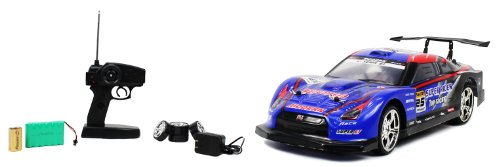 114-Electric-Speed-III-Nissan-Skyline-GT-R-RTR-RC-Drift-Car-Remote-Control-Rechargeable-0