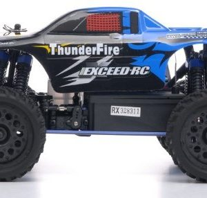 116-24Ghz-Exceed-RC-ThunderFire-Nitro-Gas-Powered-RTR-Off-Road-Truck-Sava-Blue-STARTER-KIT-REQUIRED-AND-SOLD-SEPARATELY-0-1