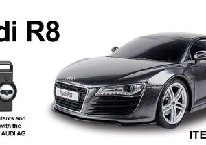 120-AUDI-R8-Radio-Remote-Control-Car-RC-Black-Re-Chargeable-READY-TO-RUN-4-Band-Full-Function-Radio-Control-that-can-run-4-cars-at-the-same-time-0