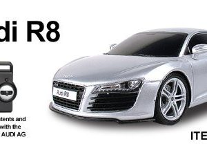 120-AUDI-R8-Radio-Remote-Control-Car-RC-Silver-Re-Chargeable-READY-TO-RUN-4-Band-Full-Function-Radio-Control-that-can-run-4-cars-at-the-same-time-0