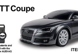 120-AUDI-TT-Radio-Remote-Control-Car-RC-BLACK-Re-Chargeable-READY-TO-RUN-4-Band-Full-Function-Radio-Control-that-can-run-4-cars-at-the-same-time-0