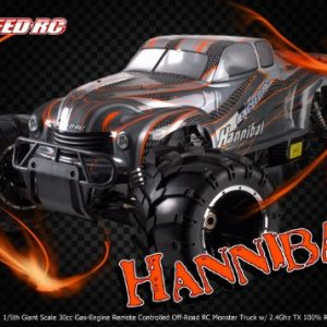 15th-Giant-Scale-Exceed-RC-Hannibal-30cc-Gas-Engine-Remote-Controlled-Off-Road-RC-Monster-Truck-w-24Ghz-TX-100-RTR-COLOR-VARIES-SENT-AT-RANDOM-0