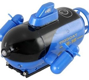 4-Channels-Mini-Wireless-RC-Toy-Submarine-Blue-0