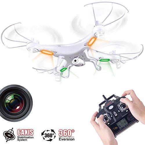 Acten-Syma-X5C-1-24Ghz-6-Axis-Gyro-RC-Quadcopter-Drone-UAV-RTF-UFO-with-2MP-HD-Camera-0