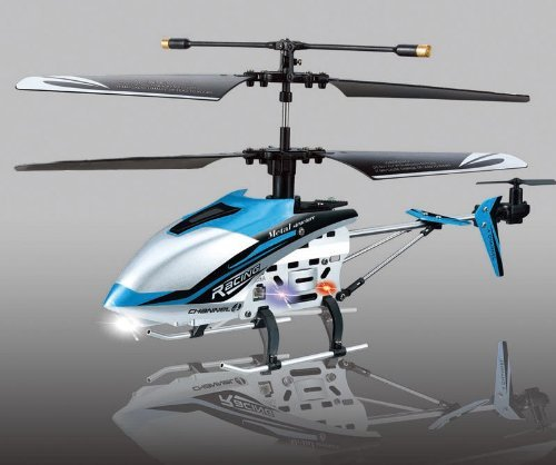 BLUE-4-ch-Indoor-Infrared-Remote-Control-Helicopter-DRIFT-KING-with-Gyroscope-0