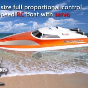 Banox-Extreme-Fast-Big-RC-Racing-Boat-18-Radio-Control-Mosquito-Craft-with-Servo-Color-may-vary-0