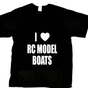 Beach-Graphic-Pros-I-LOVE-RC-MODEL-BOATS-Novelty-adult-LARGE-black-t-shirt-0