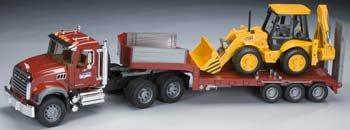 Bruder-Mack-Granite-Flatbed-Truck-with-JCB-Loader-Backhoe-0