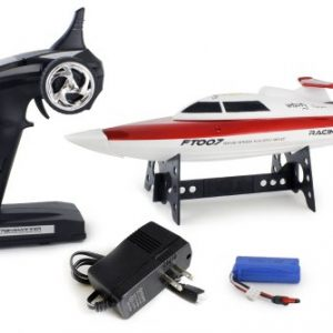 FT007-4-Channel-24G-High-Speed-Racing-RC-Boat-Red-0