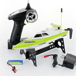 FT008-4-Channel-27mhz-High-Speed-Racing-RC-Boat-GREEN-0