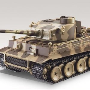 German-Tiger-I-Battle-Tank-RC-124-Airsoft-Metal-Cannon-Model-Heavy-Panzer-with-Sound-Desert-Camouflage-0