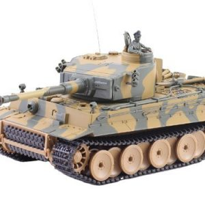 German-Tiger-I-Battle-Tank-RC-Sound-124-Model-WWII-Heavy-Panzer-with-Airsoft-Metal-Cannon-Color-may-vary-0