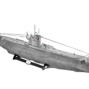 German-U-Boat-Type-VIIC-U552-Wolf-Pack-Submarine-172-Revell-Germany-0