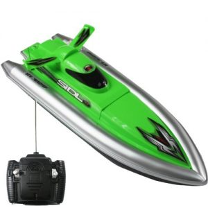 Green-Mini-Tracer-12-RC-Speed-Boat-Radio-Control-Electric-Powered-Racing-Ship-0