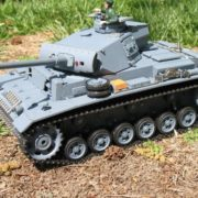 116-RC-German-Panzer-Kampfwagen-III-Remote-Controlled-Battle-Tank-0-1