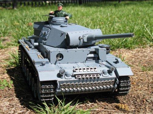 116-RC-German-Panzer-Kampfwagen-III-Remote-Controlled-Battle-Tank-0
