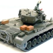 116-Remote-Control-Snow-Leopard-M26-Air-Soft-RC-Battle-Tank-Smoke-Sound-Upgrade-Version-w-Metal-Gear-Tracks-0-2