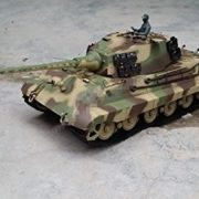 116-Scale-Radio-Remote-Control-German-King-Tiger-Henschel-Turret-Air-Soft-RC-Battle-Tank-Smoke-Sound-0-0
