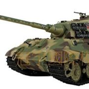 116-Scale-Radio-Remote-Control-German-King-Tiger-Henschel-Turret-Air-Soft-RC-Battle-Tank-Smoke-Sound-0