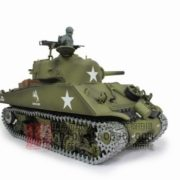 116-US-M4A3-Sherman-Tank-105mm-Howitzer-Air-Soft-RC-Battle-Tank-Smoke-Sound-Upgrade-Version-w-Metal-Gear-Tracks-0-2