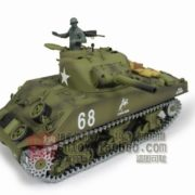 116-US-M4A3-Sherman-Tank-105mm-Howitzer-Air-Soft-RC-Battle-Tank-Smoke-Sound-Upgrade-Version-w-Metal-Gear-Tracks-0-3