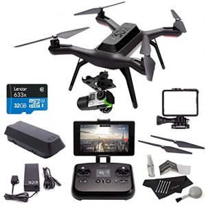 3DR-Solo-Drone-Quadcopter-3D-Robotics-GB11A-3DR-Solo-Gimbal-PP11A-3DR-Solo-Propeller-Set-Lexar-High-Performance-microSDHC-633x-32GB-UHS-IU1-Polaroid-5-Piece-Camera-Cleaning-Kit-Bundle-Kit-0