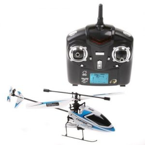 4CH-24GHz-Mini-Radio-Single-Propeller-RC-Helicopter-Gyro-V911-RTF-WhiteBlue-0