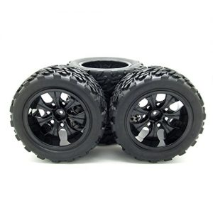 4x-7-Wheel-Spokes-Wheel-Rim-Black-Tyre-Tires-For-RC-18-Off-Road-Car-Monster-Truck-0
