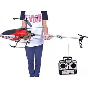 53-Inch-Extra-Large-GT-QS8006-2-Speed-35-Ch-RC-Helicopter-Builtin-GYRO-Red-0