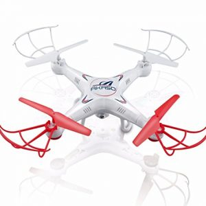 Akaso-X5C-4CH-24GHz-6-Axis-Gyro-Headless-RC-Quadcopter-with-HD-Camera-360-degree-3D-Rolling-Mode-RC-Drone-Bonus-MicroSD-card-Blades-Propellers-included-0
