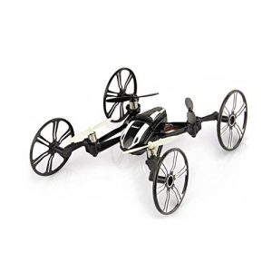 Babrit-Elite-6-Axis-Gyro-RC-Quadcopter-24Ghz-4-in-1-RC-Drone-Quadcopter-RC-Flying-Car-Remote-Control-Drone-with-HD-Camera-Black-0