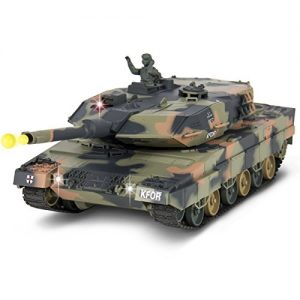 Best-Choice-Products-124-RC-Battle-Tank-Airsoft-Shooting-BB-Military-Vehicle-Over-300-Deg-Turret-Fighting-Sounds-Army-War-0