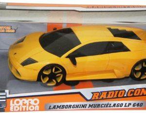 Big-Time-116-Scale-Radio-Control-Muscle-Car-Yellow-Lamborghini-Murcielago-0