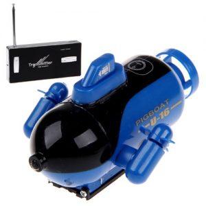 Blue-Mini-RC-Submarine-Toy-With-Radio-Controller-49Mhz-777-219-0