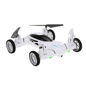 Boldclash-X25-24G-8CH-6-Axis-2-in-1-3D-Eversion-RC-Quadcopter-Flying-Car-RTF-with-Camera-0