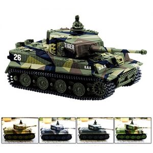 Cheerwing-172-Radio-Remote-Control-Mini-RC-German-Tiger-I-Panzer-Tank-with-Sound-Rotating-Turret-and-Recoil-Action-When-Cannon-Artillery-Shoots-Vary-Colors-0
