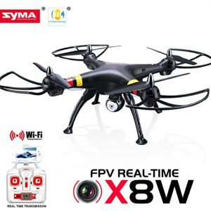 Cheerwing-Syma-X8W-FPV-Real-time-24Ghz-4ch-6-Axis-Gyro-Headless-RC-Quadcopter-Drone-with-HD-Camera-RTF-Black-0
