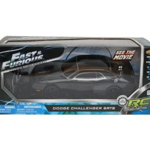Fast-Furious-Black-Dodge-Challenger-SRT8-Radio-Control-Car-Controller-8-L-0