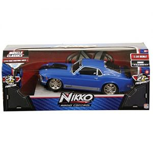 Ford-Mustang-Mach-1-Radio-Control-Muscle-Car-116-Scale-27-MHz-0