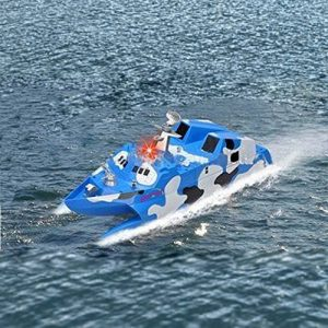 Ginzick-Rc-Remote-Control-Missile-Stealth-Speed-Boat-0