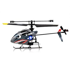 Hero-RC-H911-24GHZ-iRocket-4-Channel-Fixed-Pitch-Ready-to-Fly-Helicopter-w-bonus-Battery-Balance-Bar-Main-Blade-Connect-Buckle-Tail-Blade-USB-Charger-0