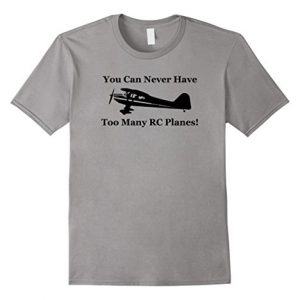Mens-You-Can-Never-Have-Too-Many-RC-Planes-Flying-T-shirt-2XL-Slate-0