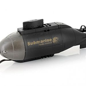 Mini-Wireless-RC-Submarine-w-Double-Propellers-Headlights-Black-0