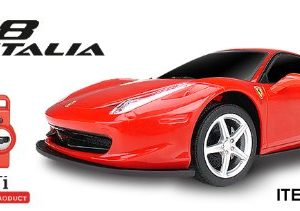 RC-Car-Ferrari-458-Electric-Remote-Control-Car-120-Scale-Rechargeable-Model-Red-0
