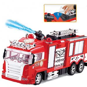 RC-Rescue-Fire-Engine-Truck-Radio-Control-Shoots-Water-0