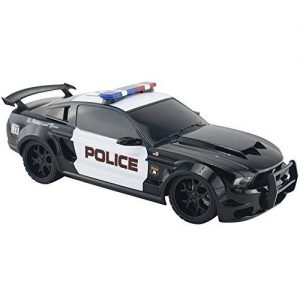 Remote-Radio-Controlled-RC-Miniature-Ford-Mustang-Muscle-Car-Police-Cruiser-0