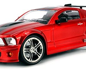 SS-Racers-Mustang-GT500-Rechargeable-RC-Car-114-Scale-Ready-To-Run-RTR-w-Bright-LED-Lights-Working-Suspension-Steering-Wheel-Control-Colors-May-Vary-0